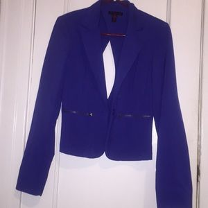 Material Girl Royal Blue Blazer size M